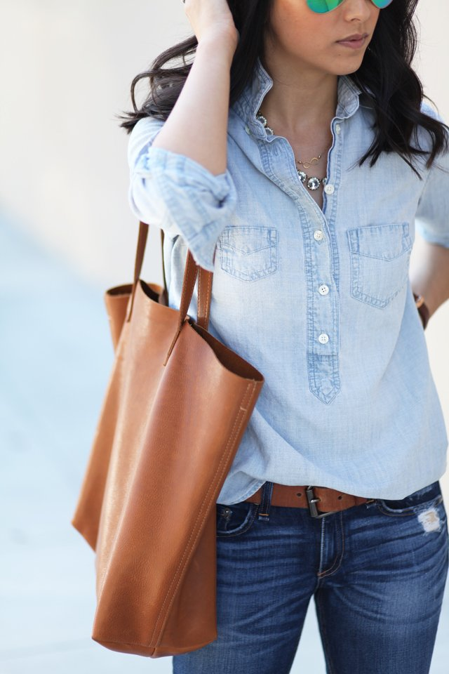 J.Crew Factory Chambray