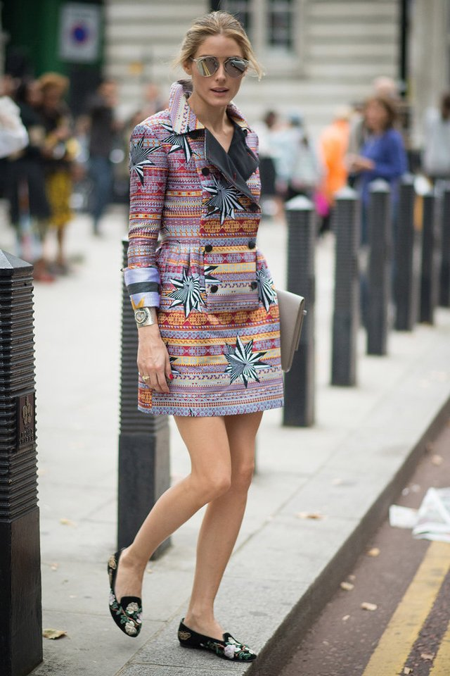 Olivia Palermo paris fashion week 2014