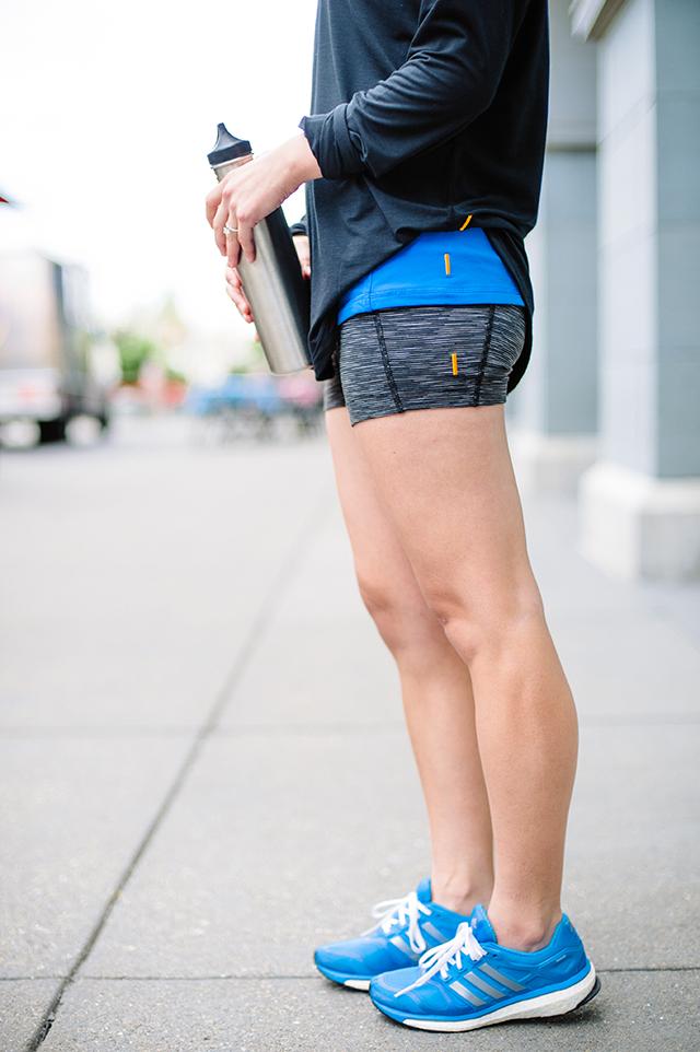Lucy Hatha short shorts