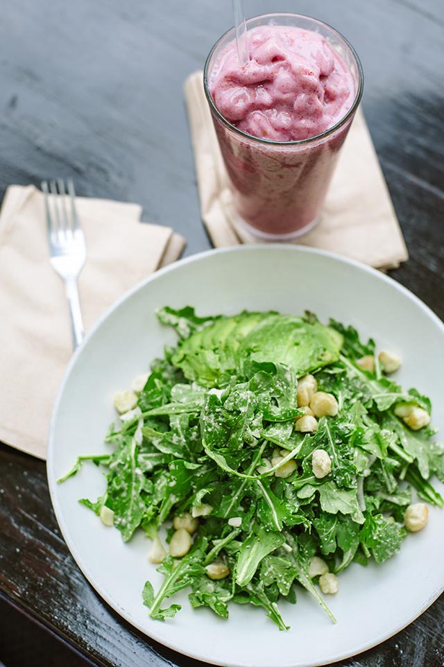 The Plant Arugala salad