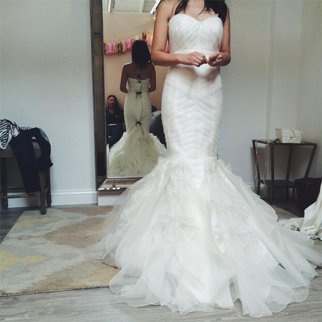 Crystalin Marie wedding dress search