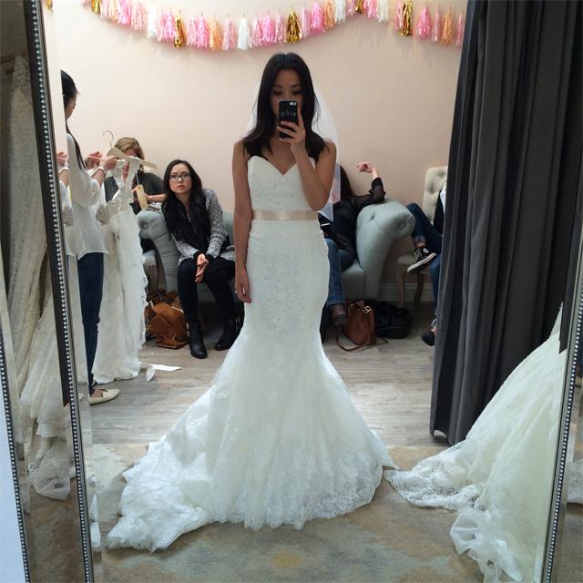 Lovely bride dress 1