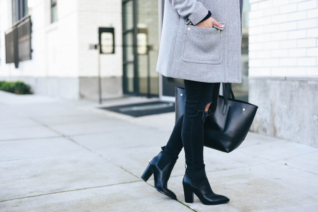 Vince Elastic Ankle boots