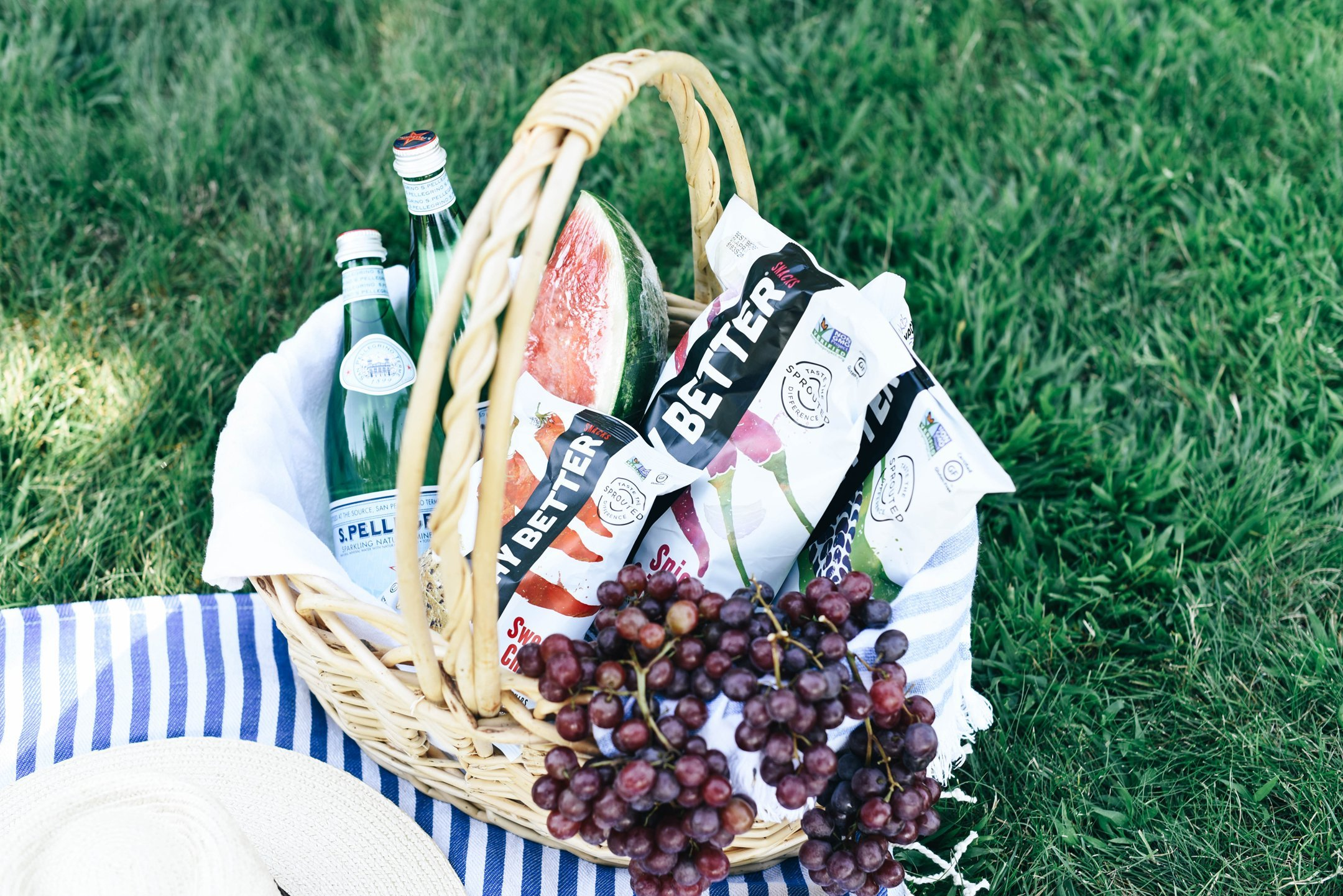 The Perfect Picnic Essentials with Way Better Snacks