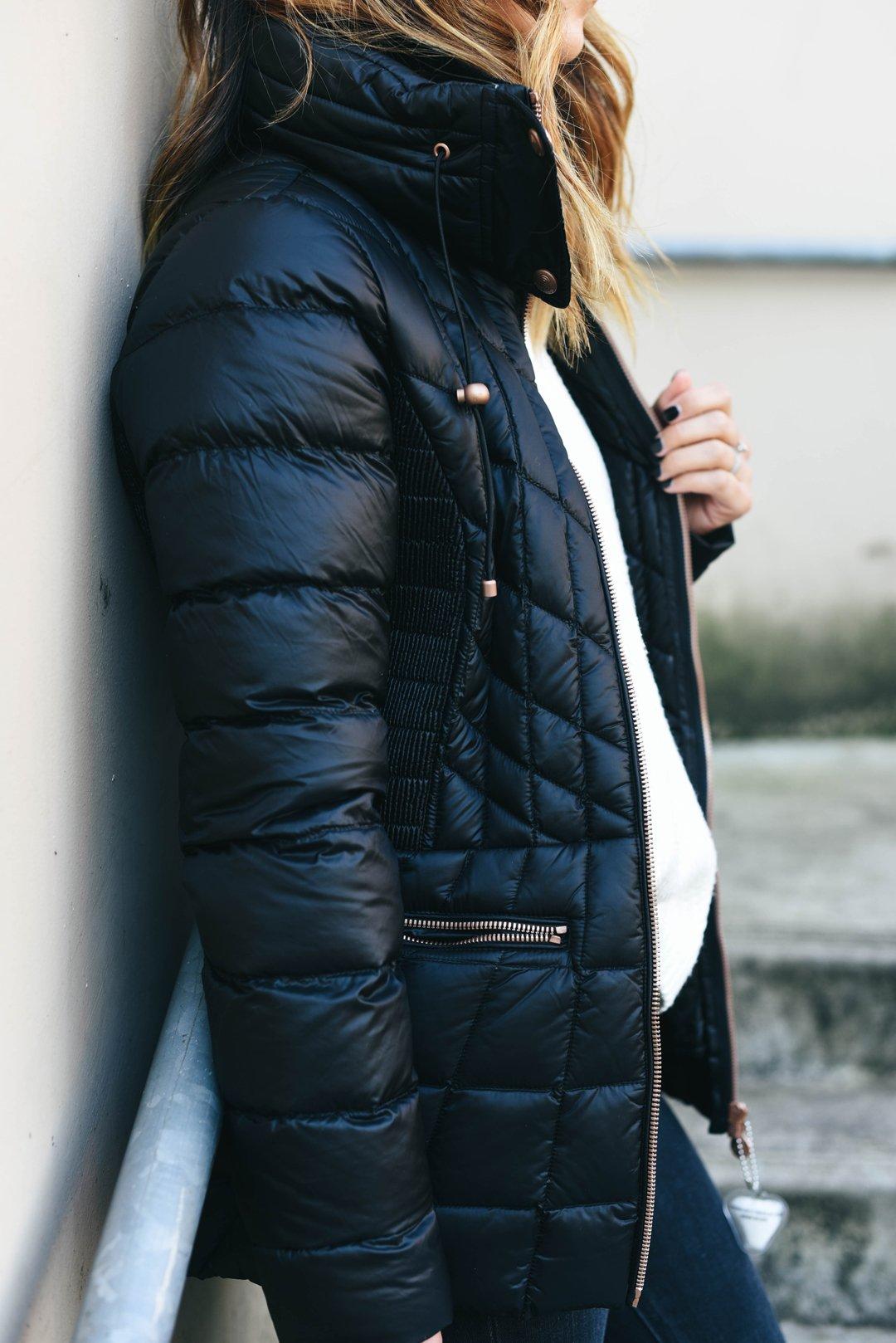 bernardo-black-packable-jacket-with-down-primaloft-fill