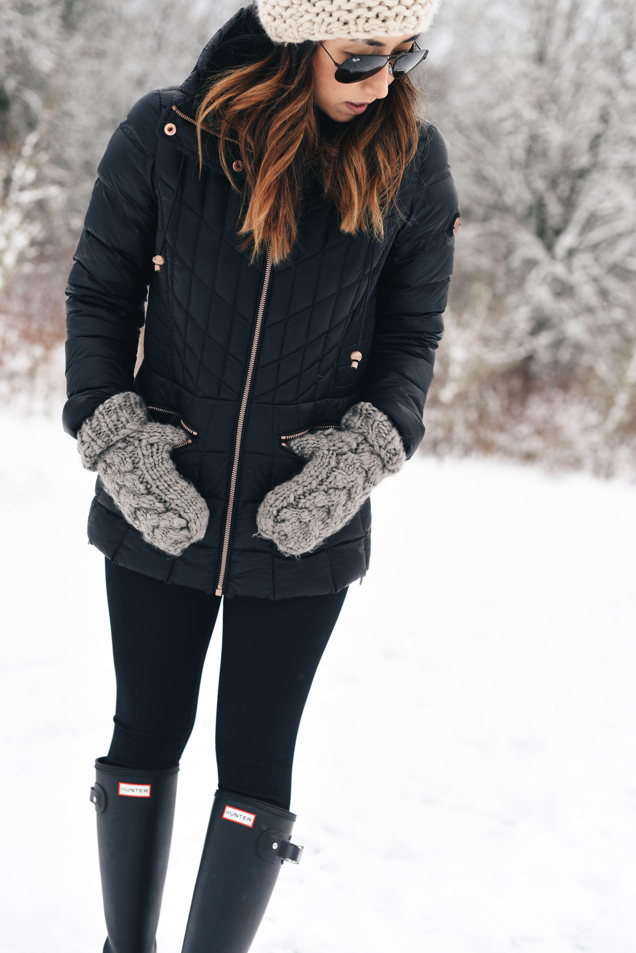 Abercrombie & Fitch mittens