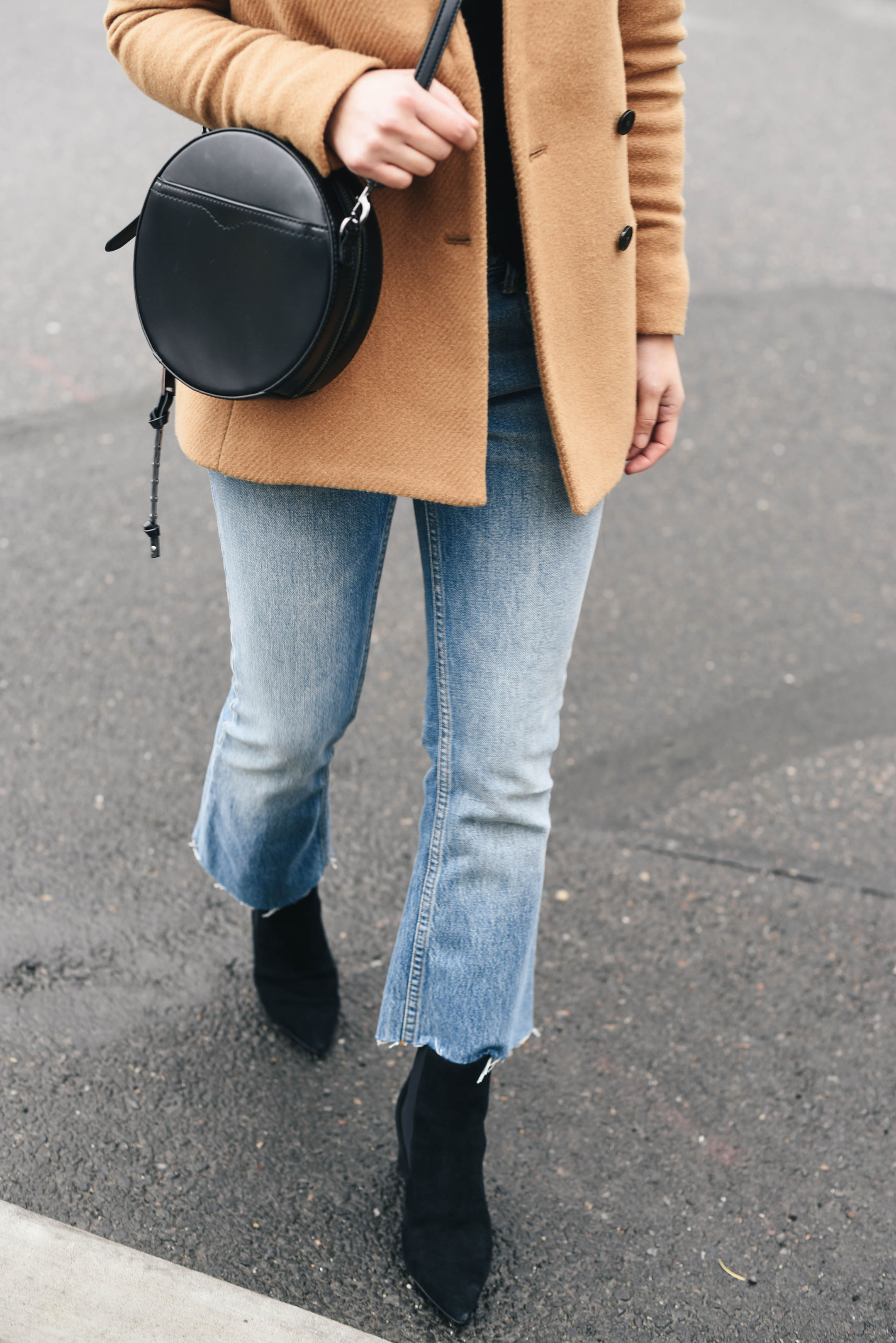 Alexander Wang cropped flare jeans