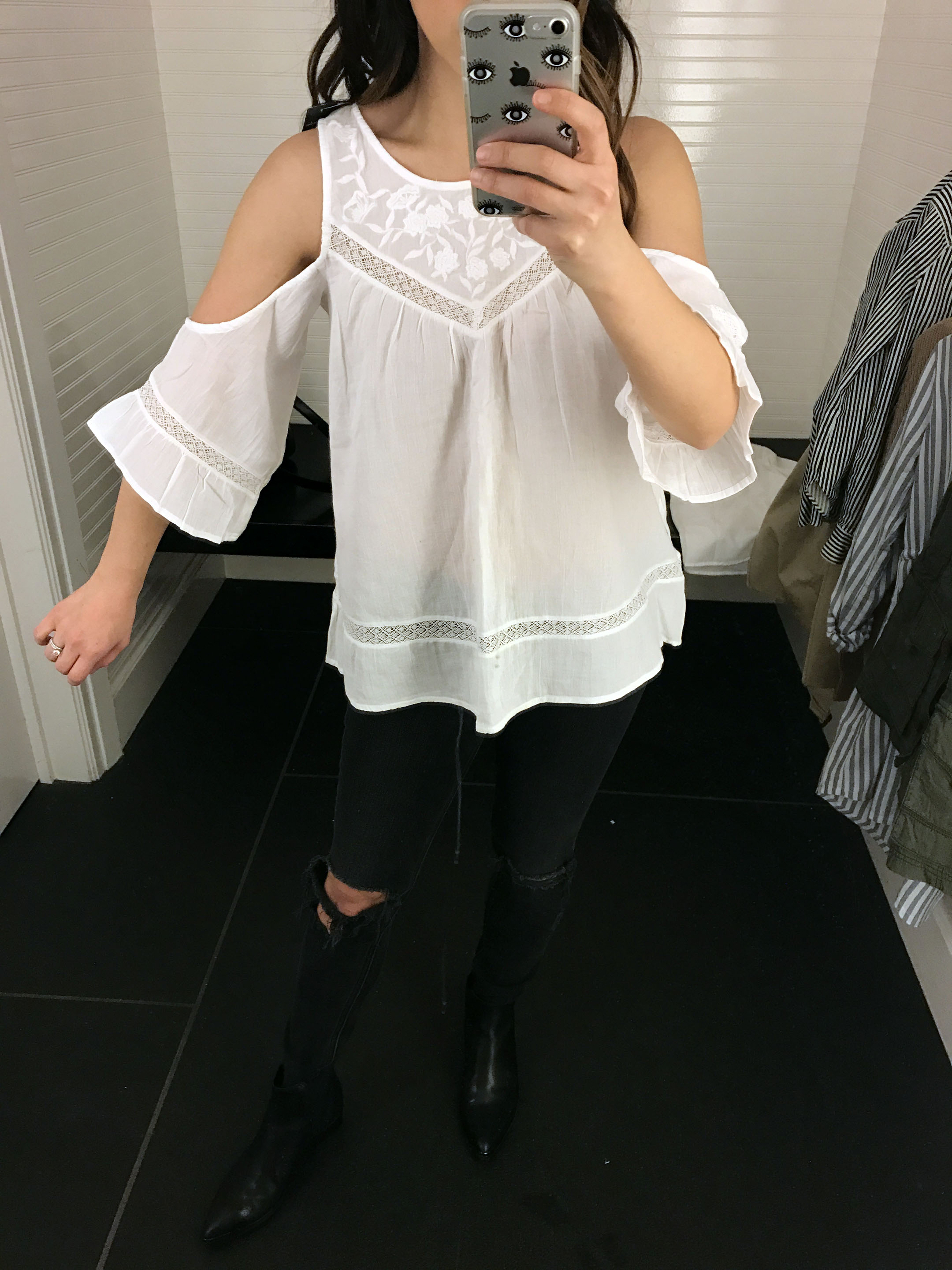Abercrombie & Fitch cold shoulder blouse 3