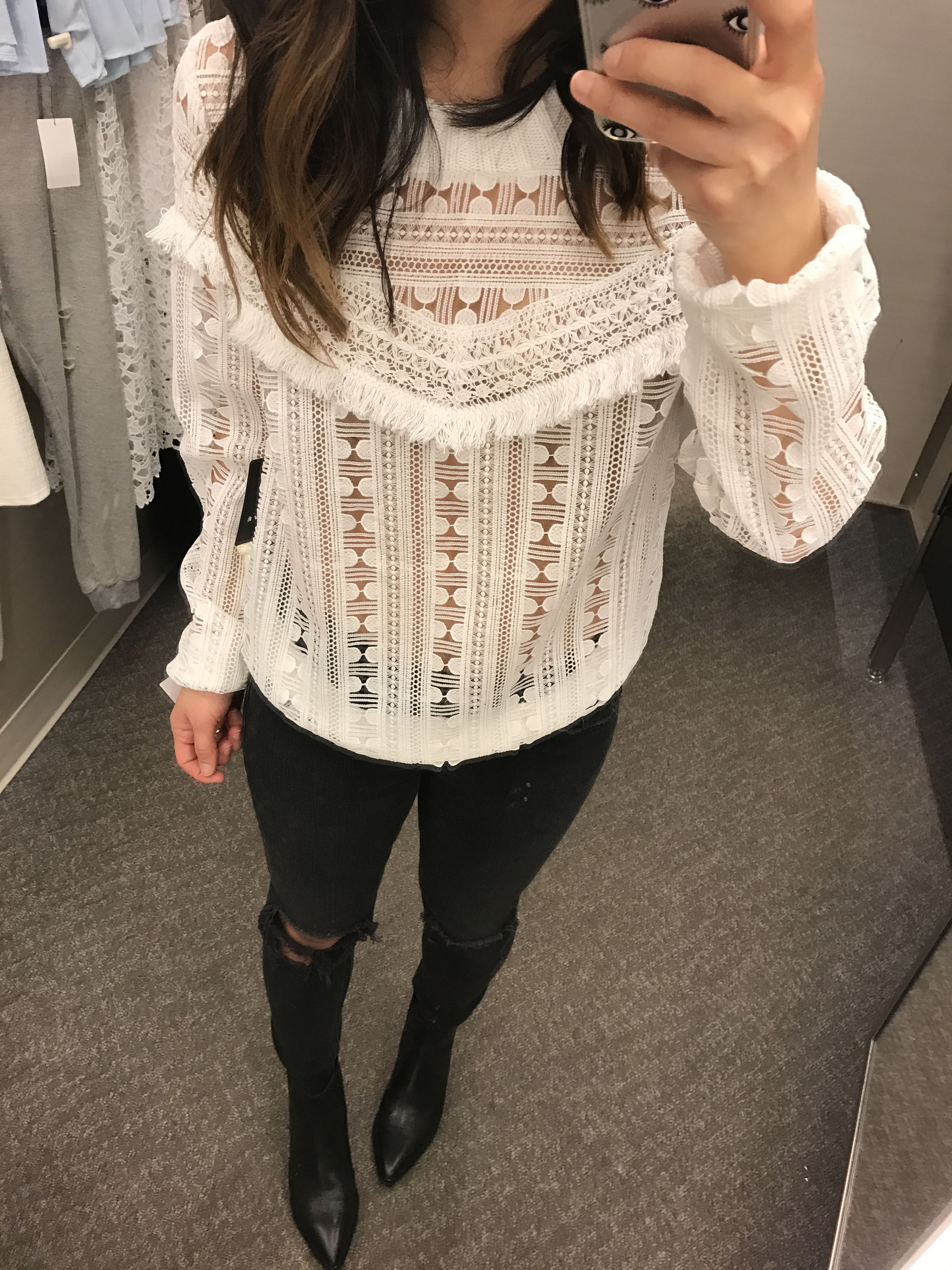 Trouve lace sweater 3