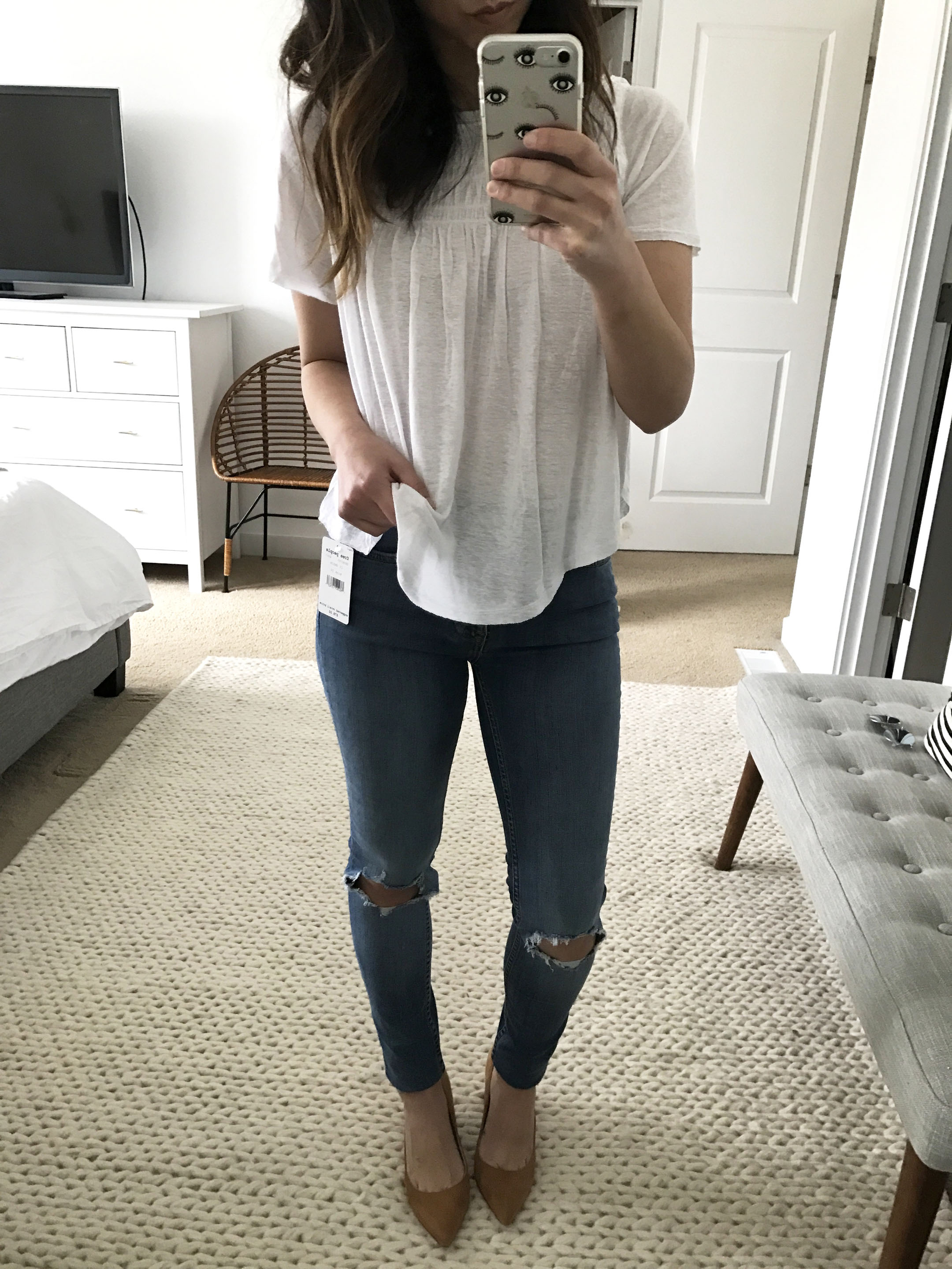 Free People High Rise Busted jeans 3