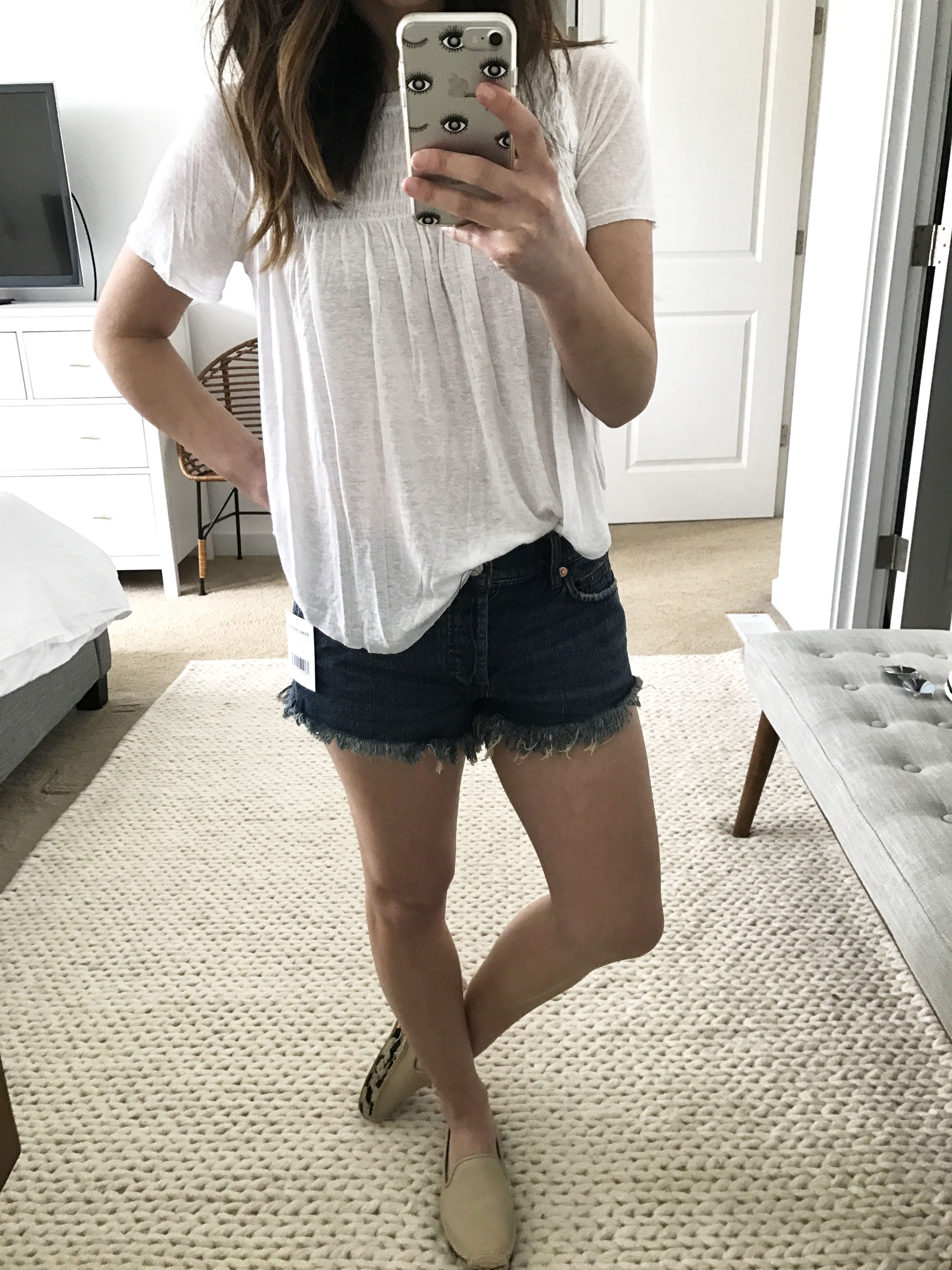 Free People soft & relaxed cutoff shorts 4