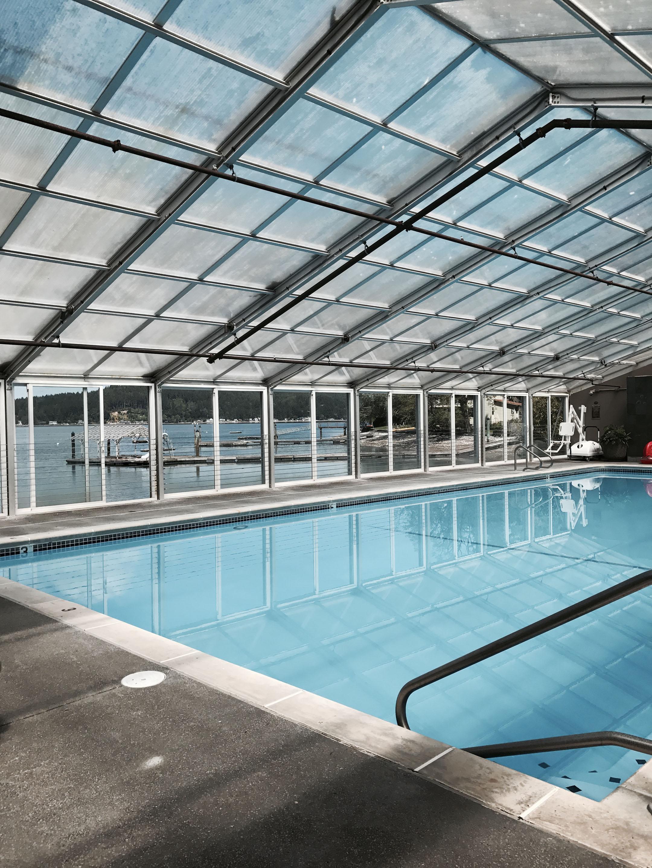 Alderbrook indoor pool