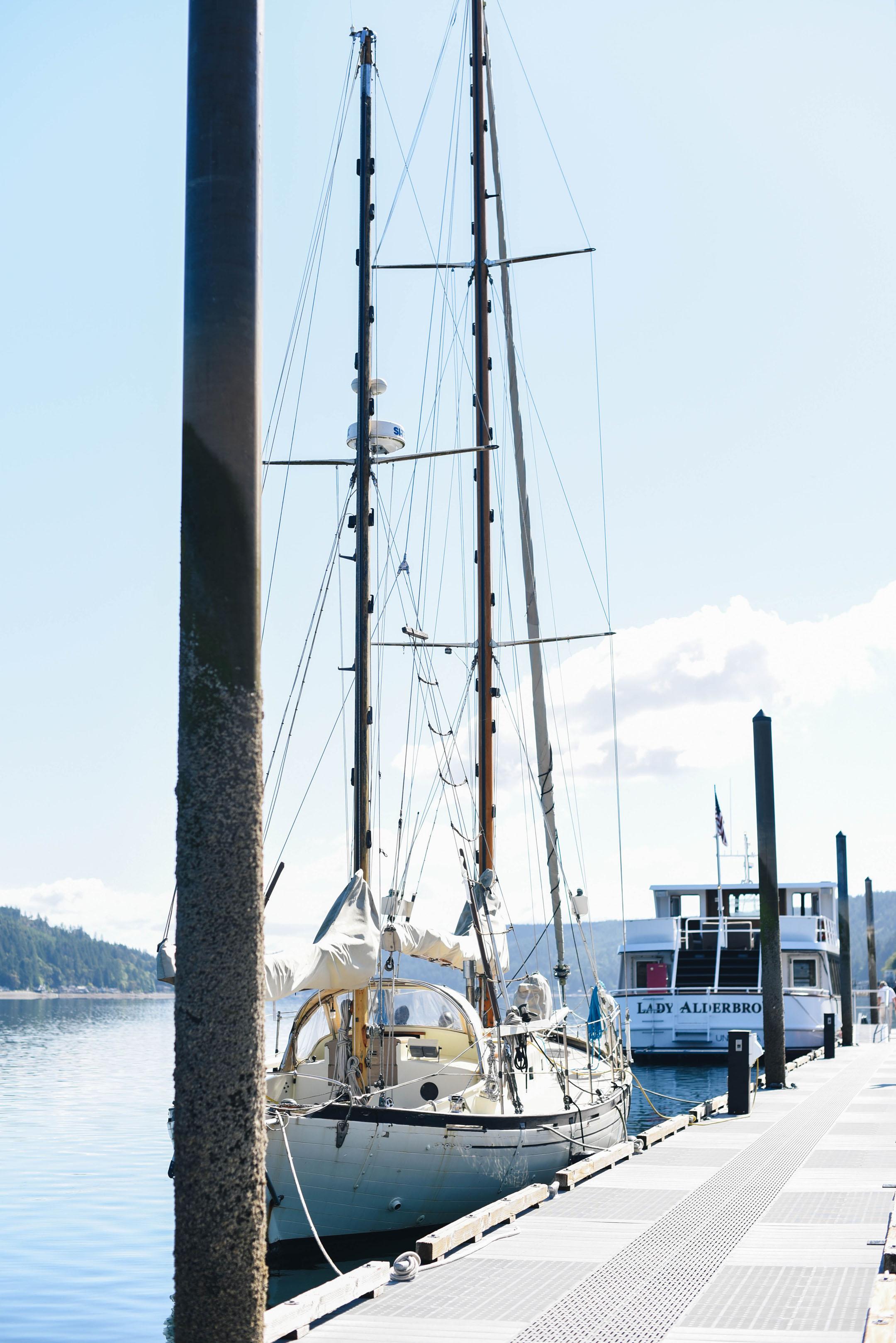 Alderbrook resort dock