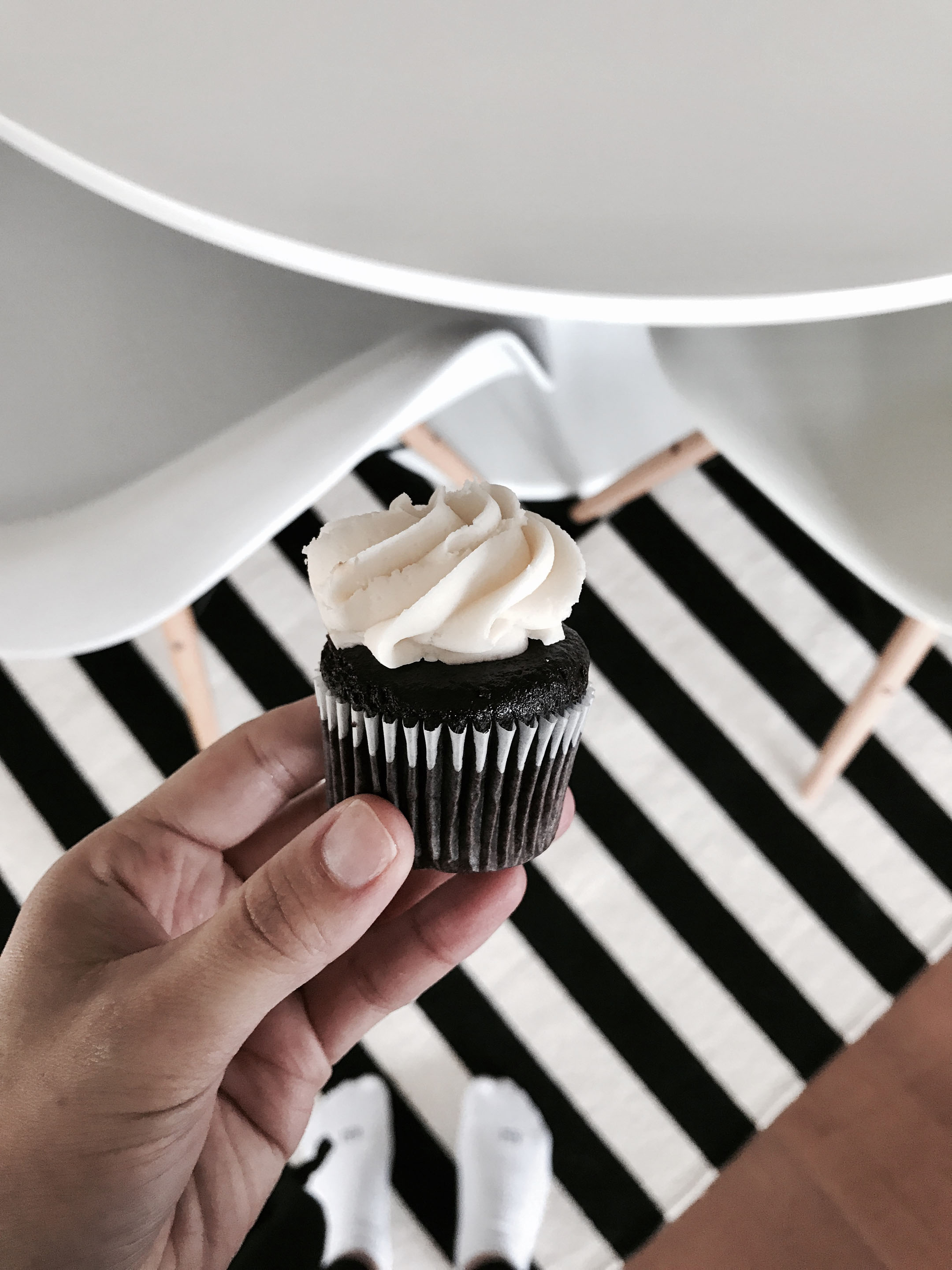 Vegan mini cupcake
