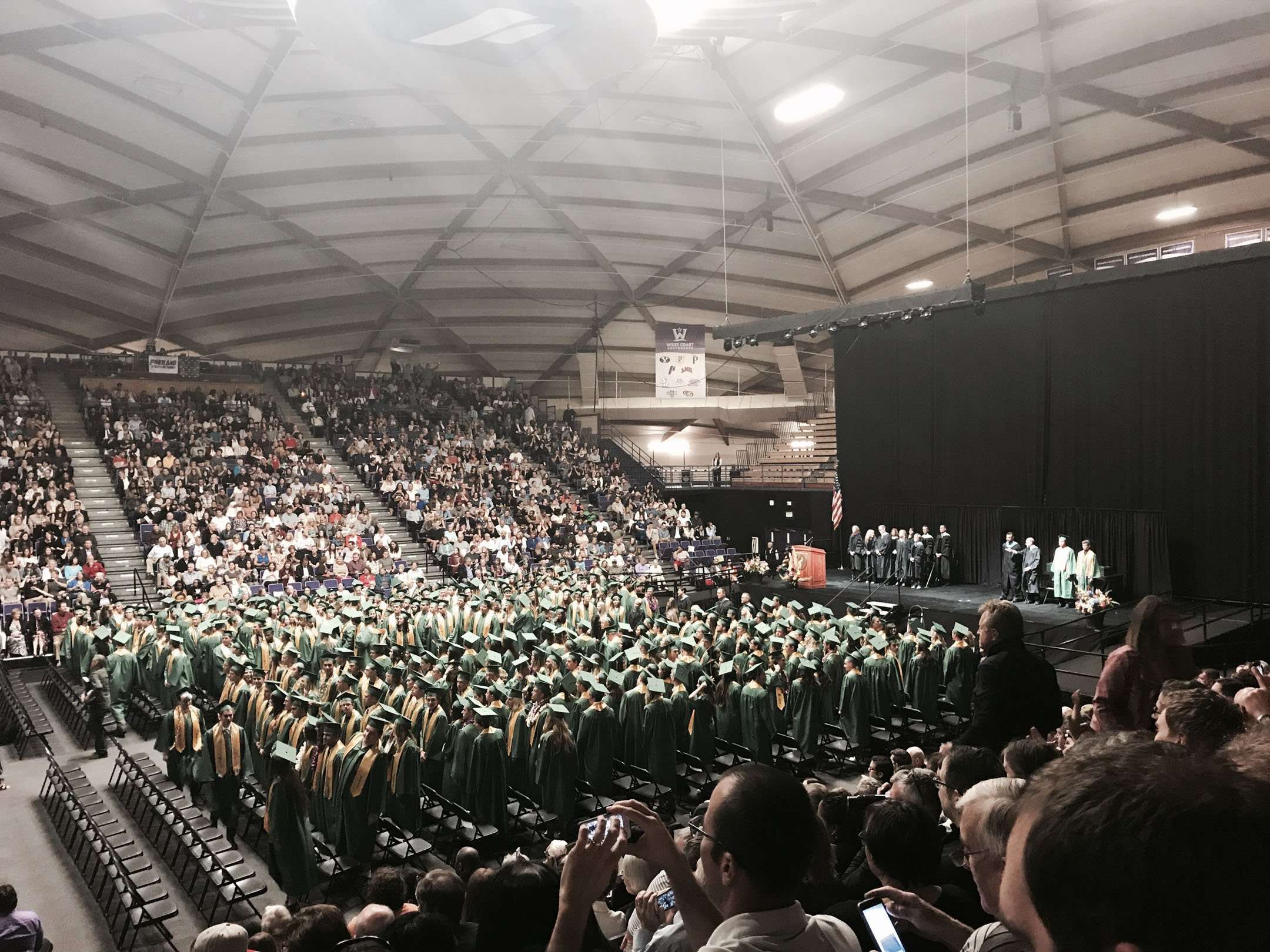 West Linn high school gradutation