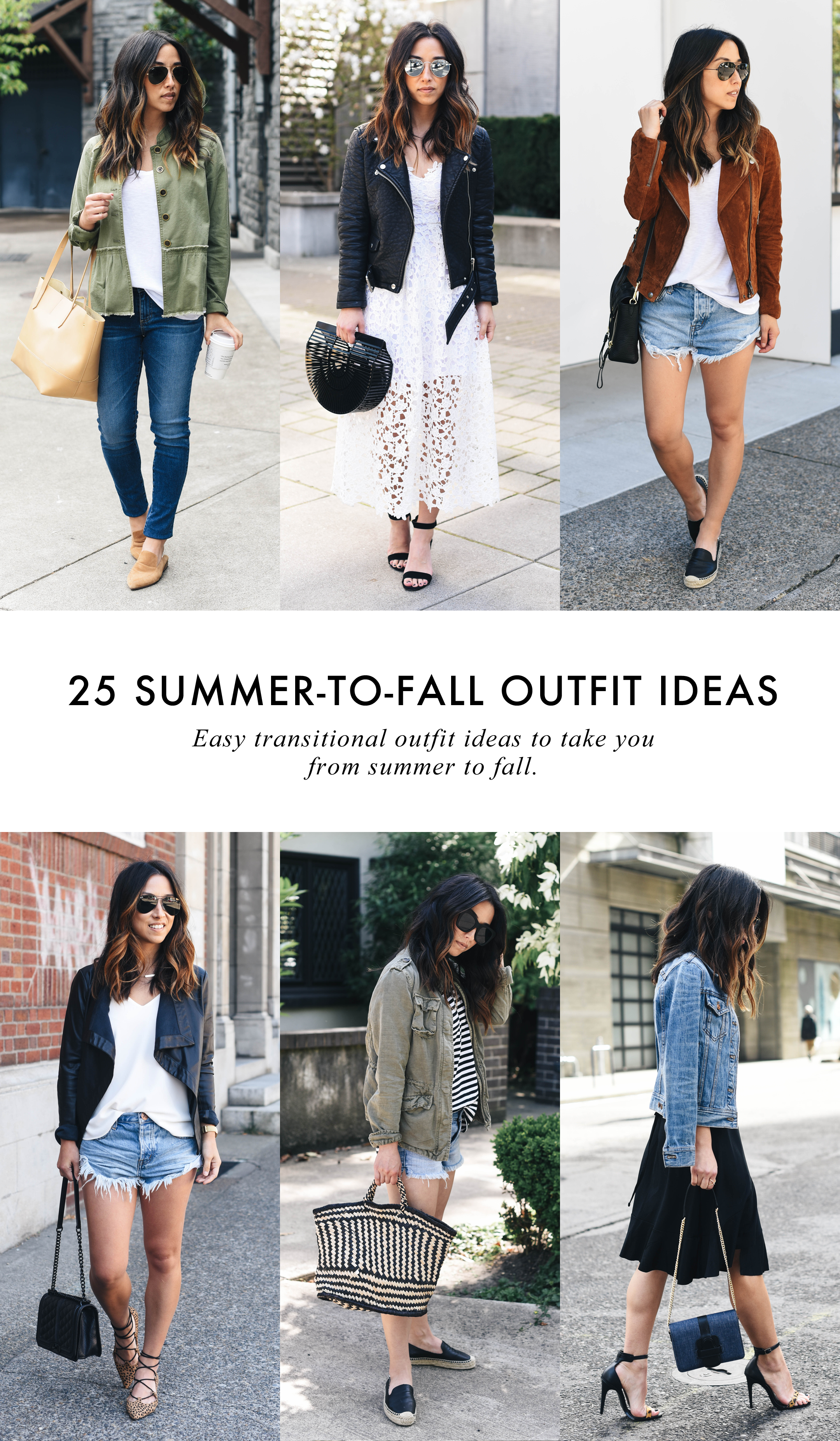 25 Summer To Fall Outfit Ideas