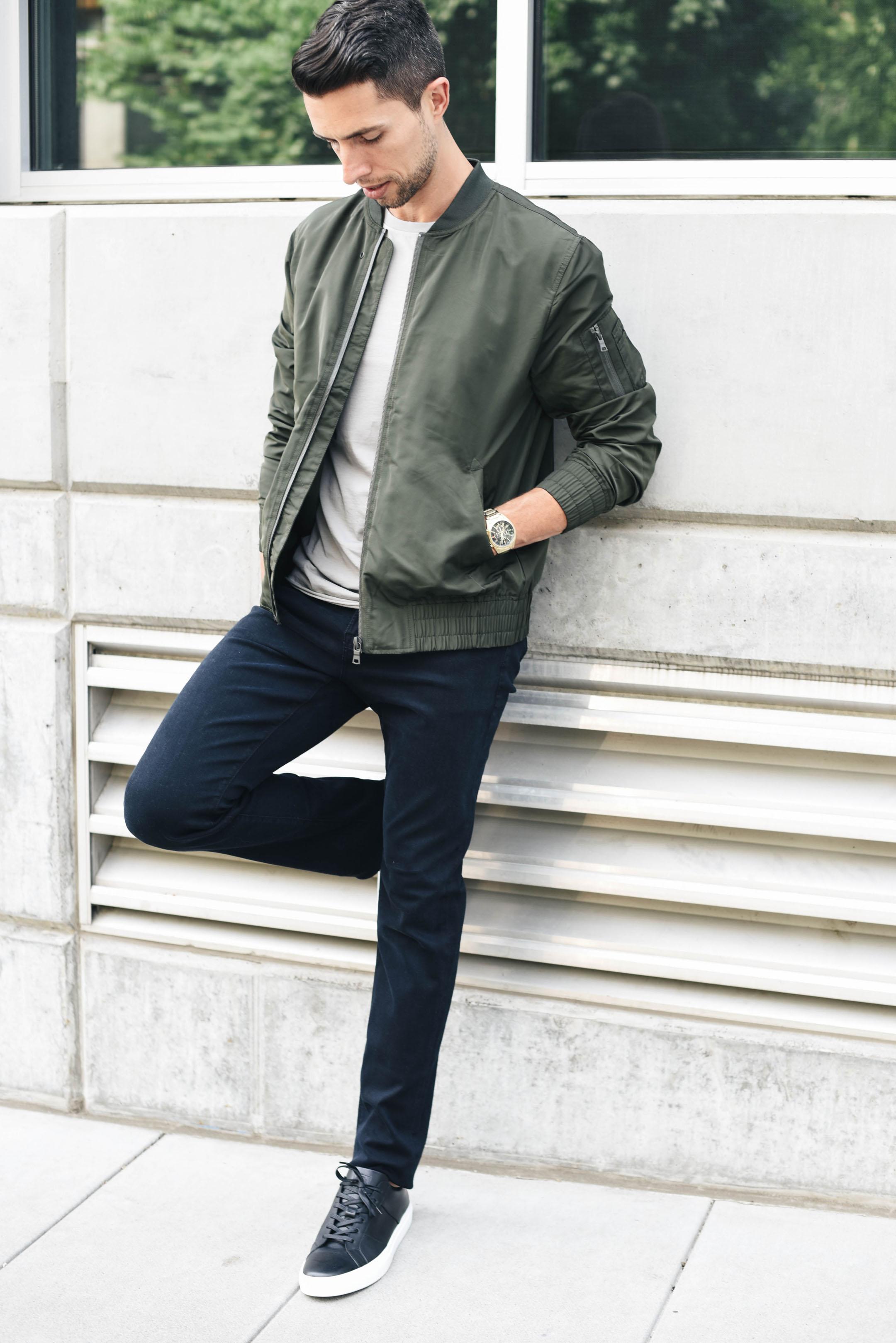 AG slim black jeans