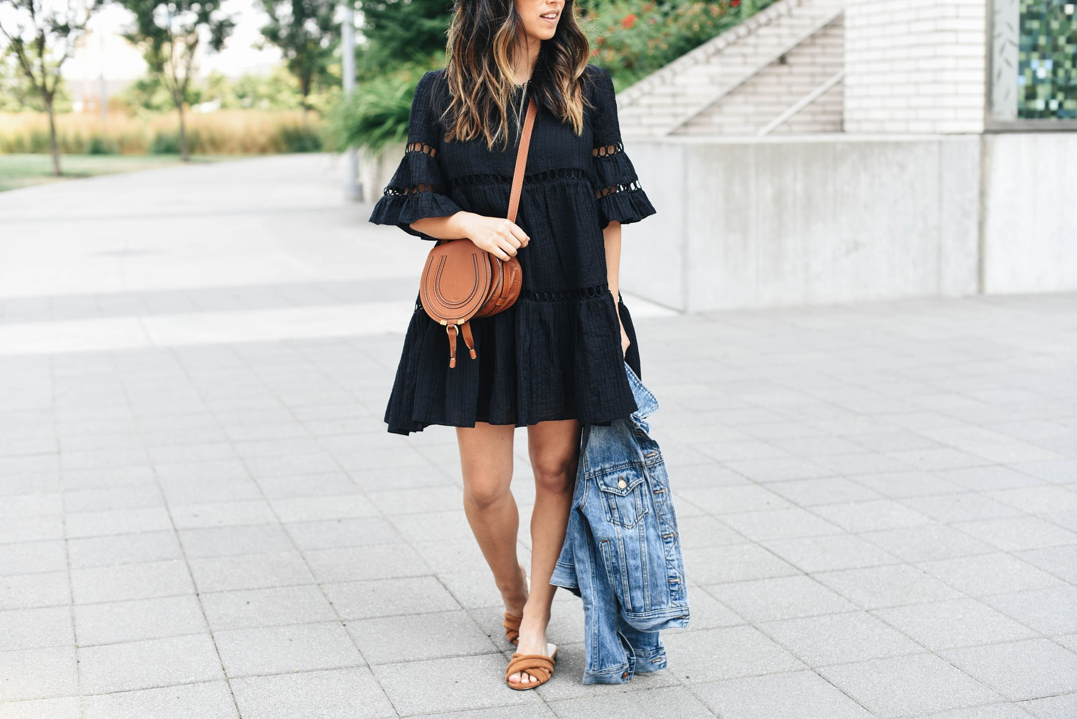 Anthropologie Clara swing dress