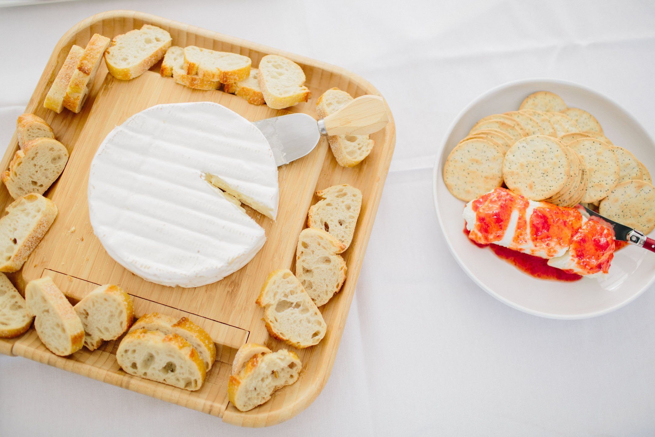 Food ideas for a bridal shower