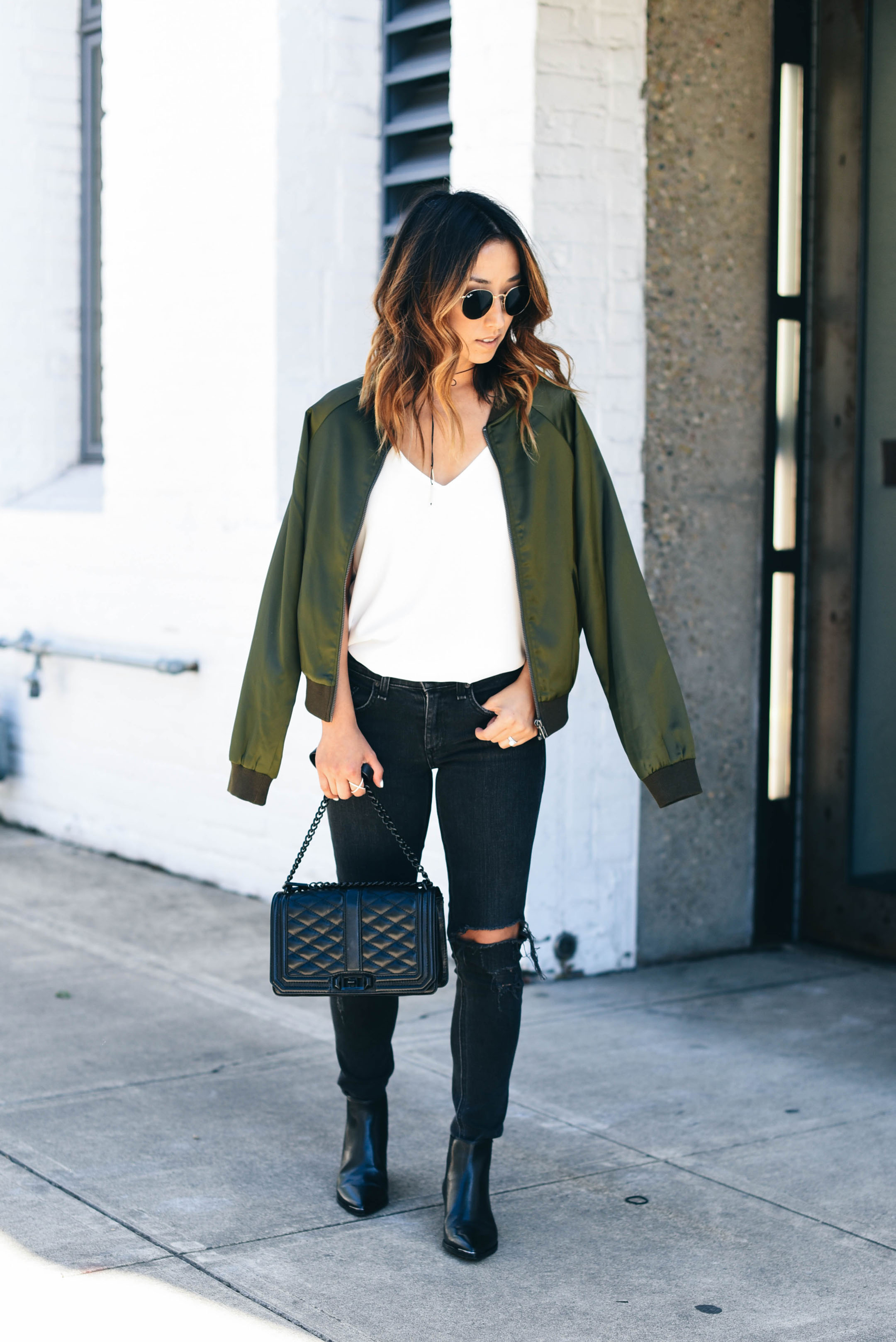 How to style a bomber jacket 2