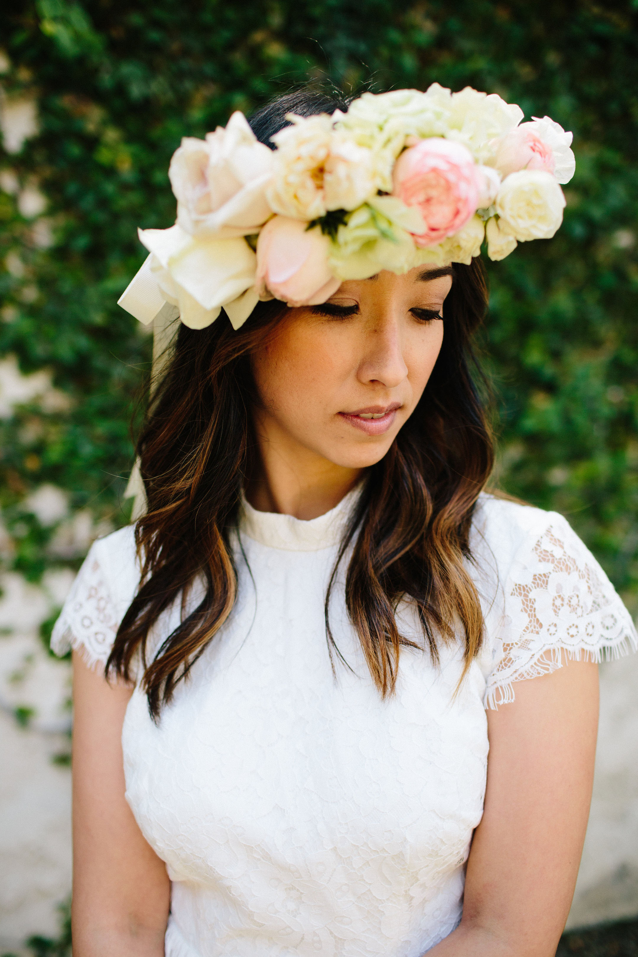 Tango & Foxtrot flower crown