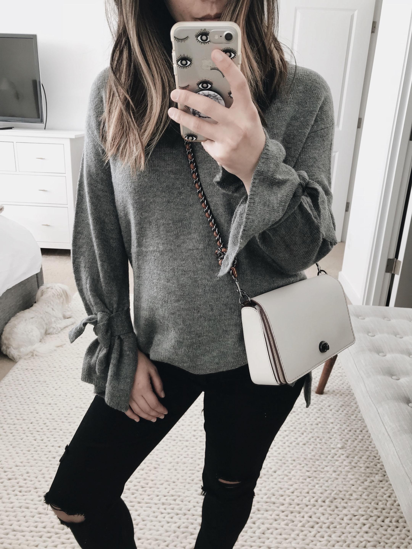 Halogen-tie-sleeve-sweater