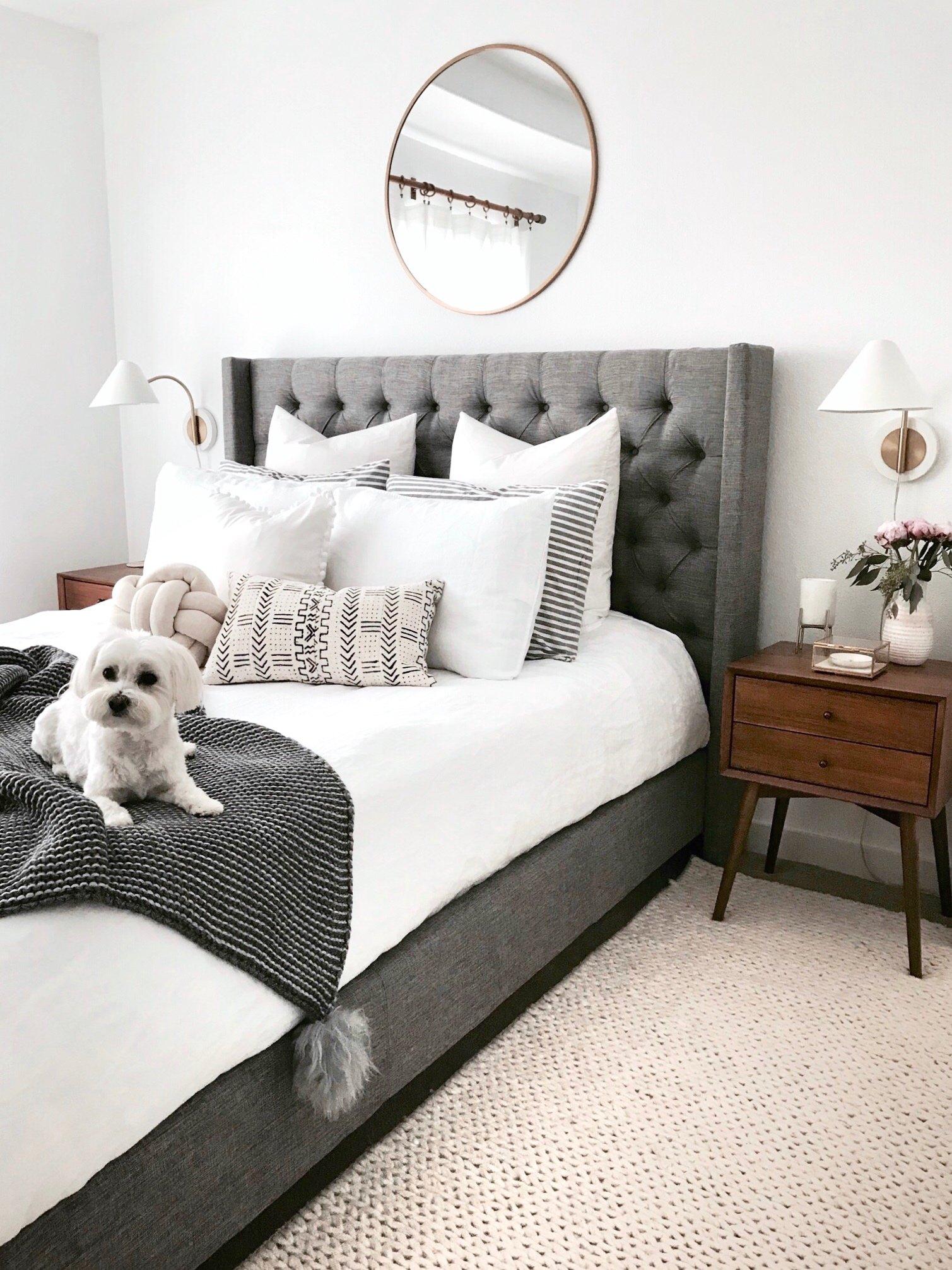 Crystalin Marie master bedroom