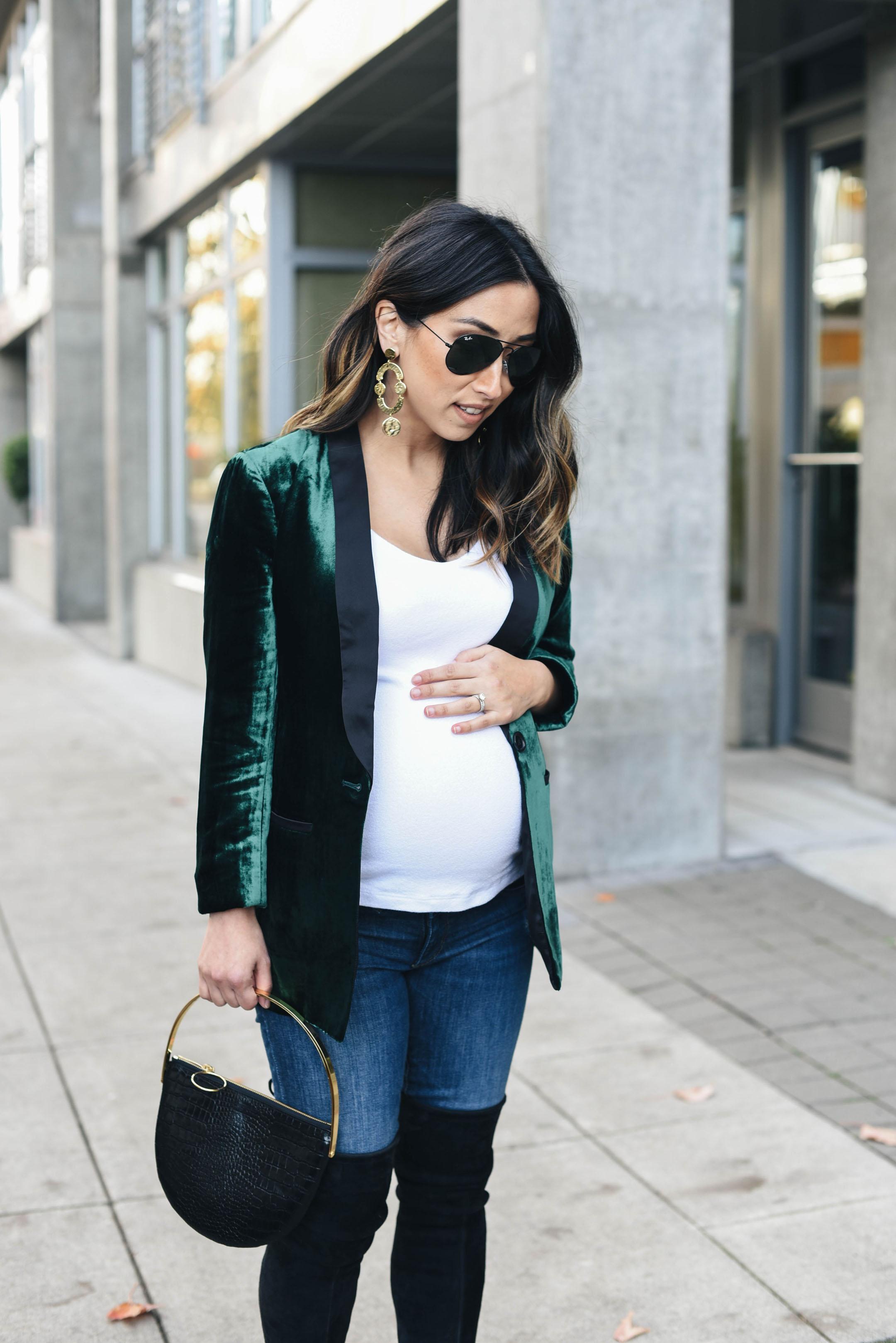Crystalin Marie maternity style