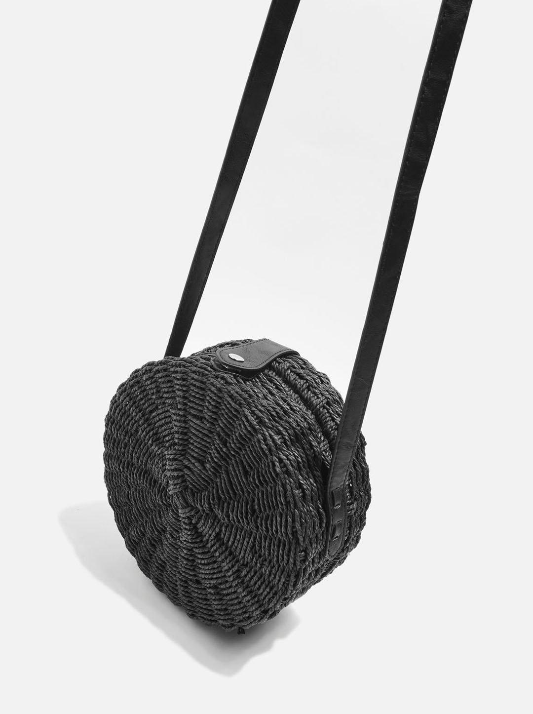 Topshop round bag