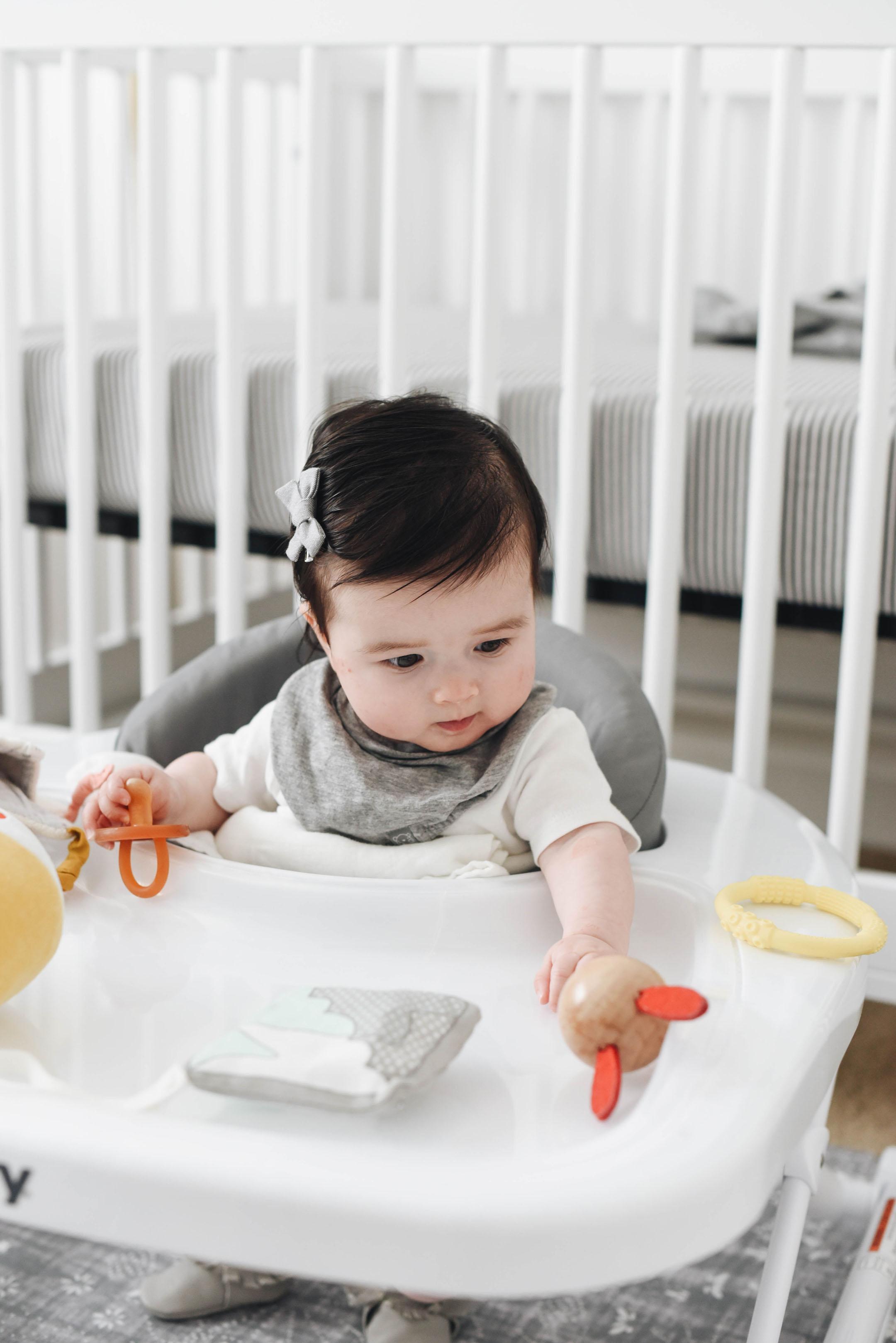Neutral minimal baby toys