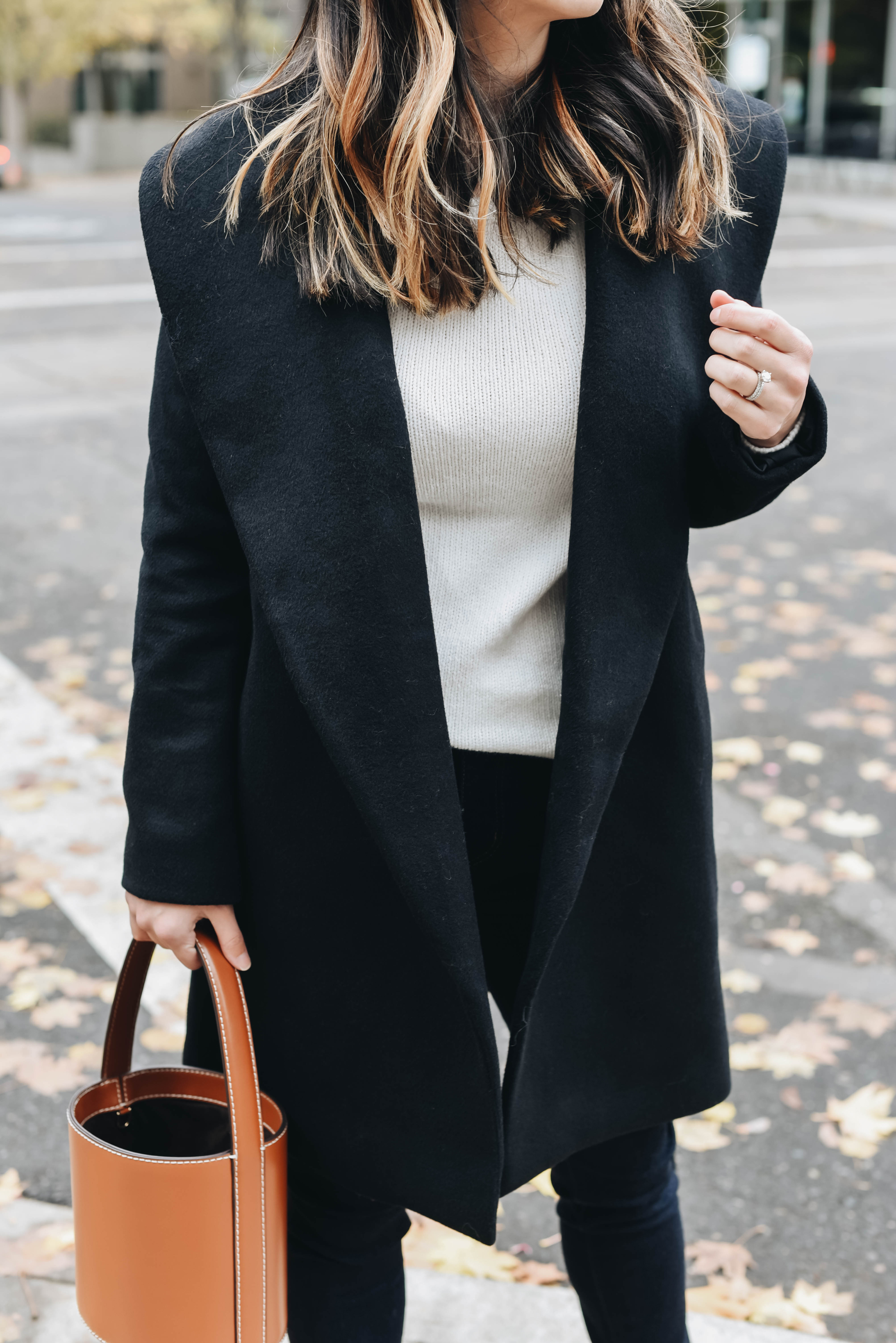 Ann Taylor wrap coat