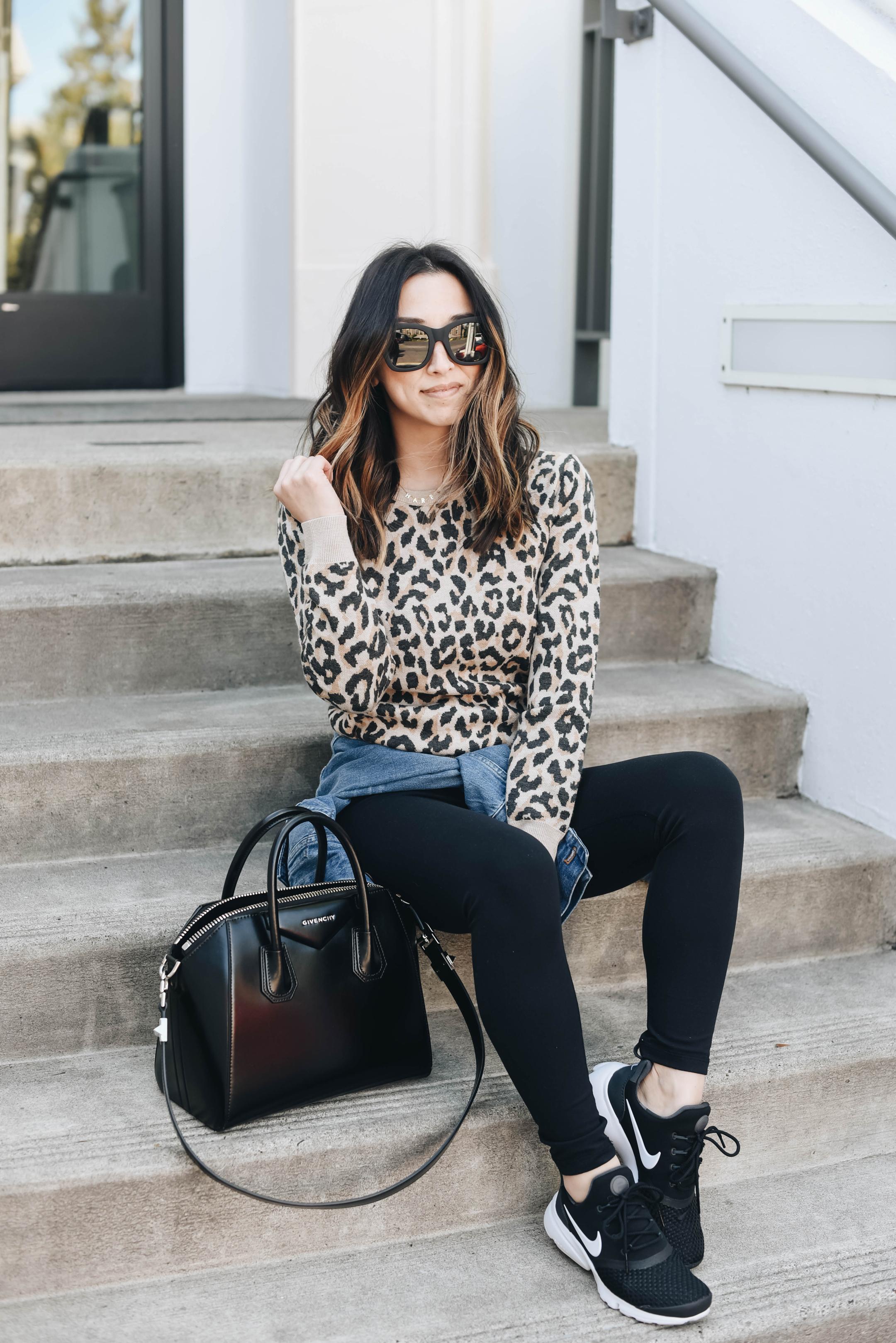 J.Crew leopard sweater