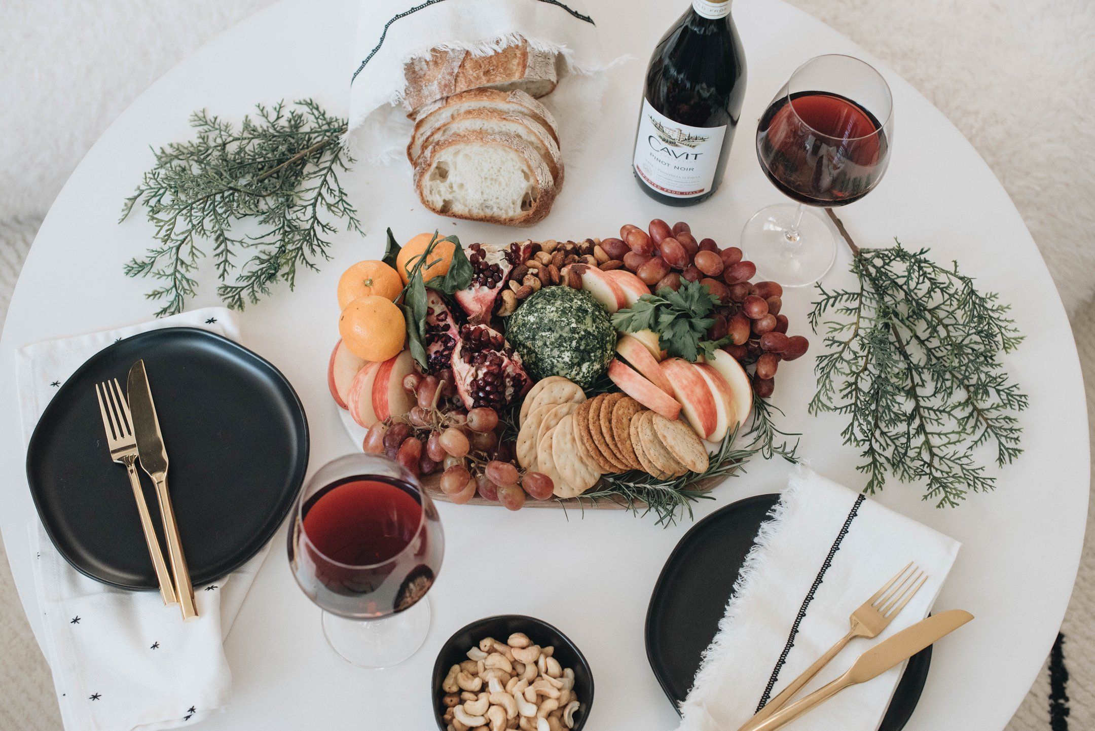 Fall and winter hosting spread