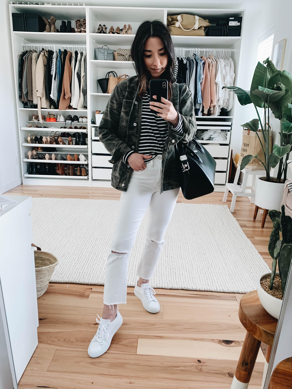 best white sneaker m.gemi
