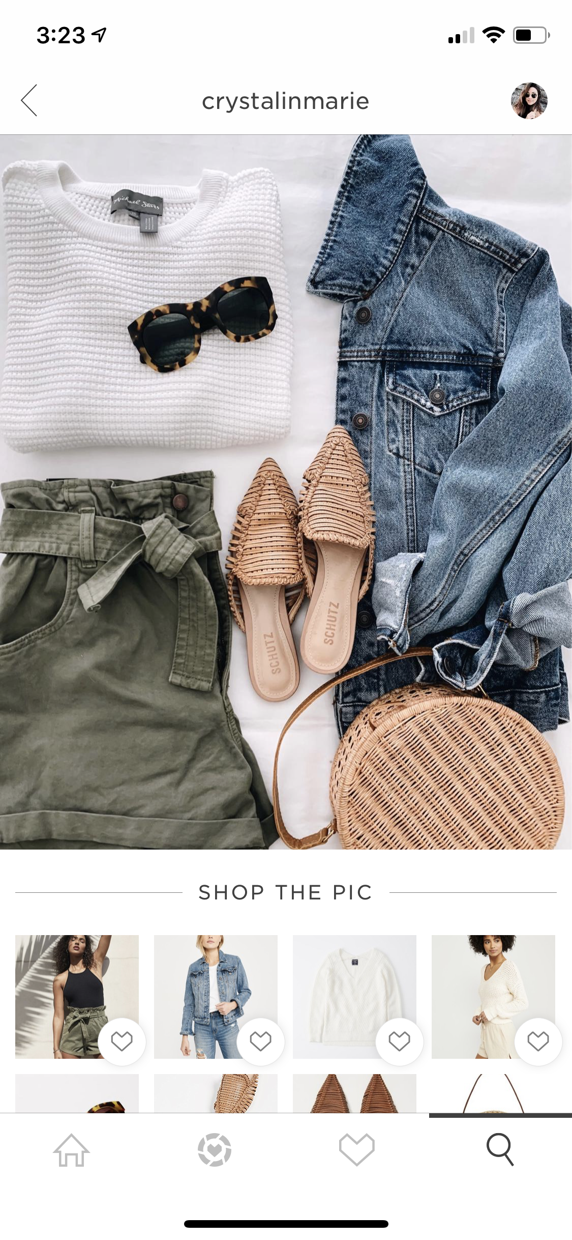 Click on photos and shop instantly