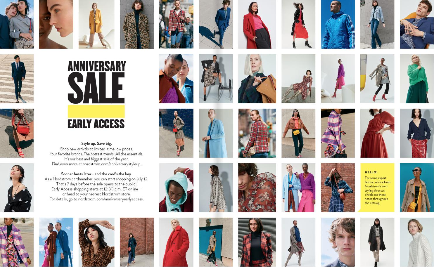 Nordstrom Anniversary Sale Catalog 2019