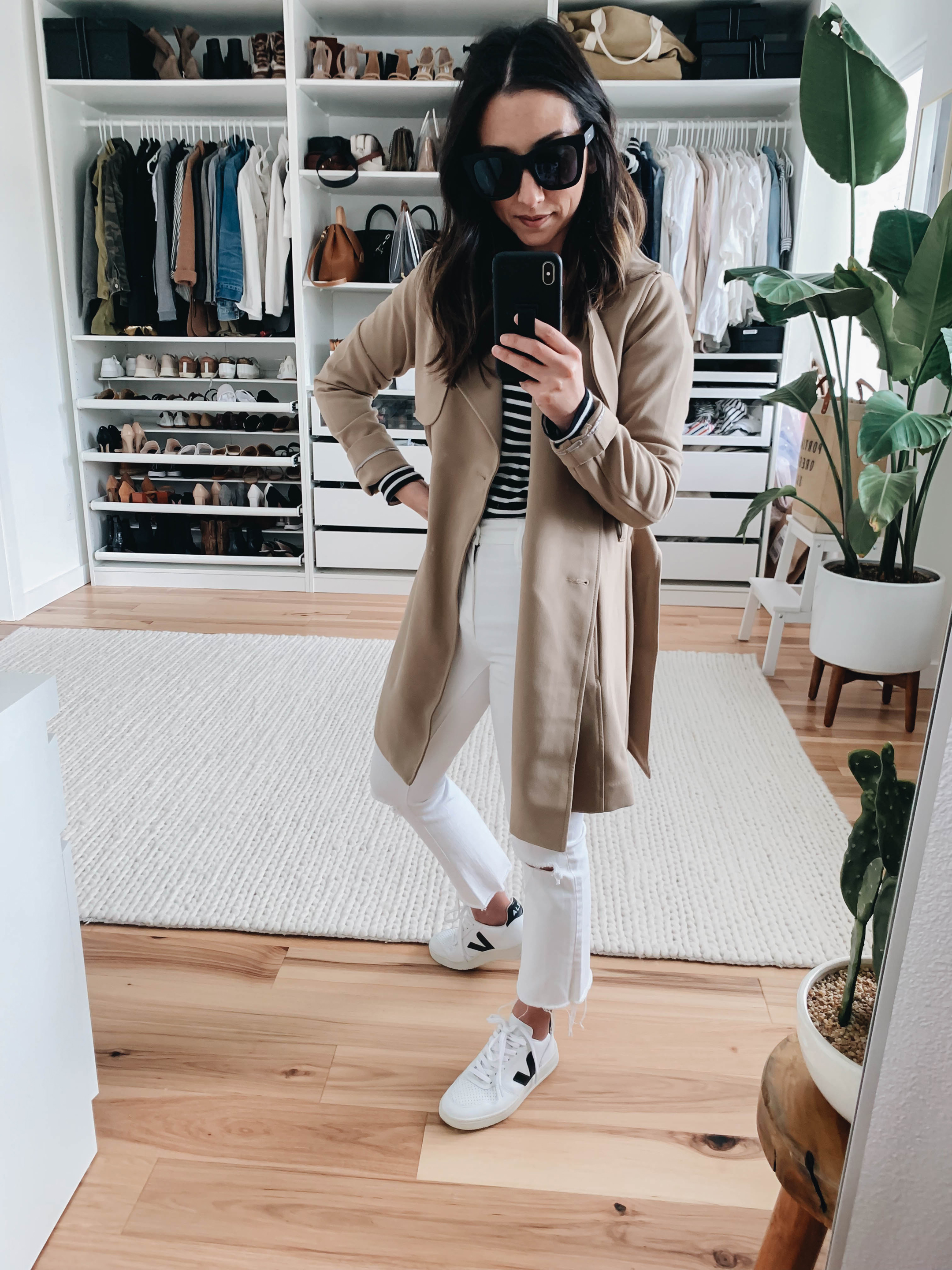 Abercrombie & Fitch Drape Trench