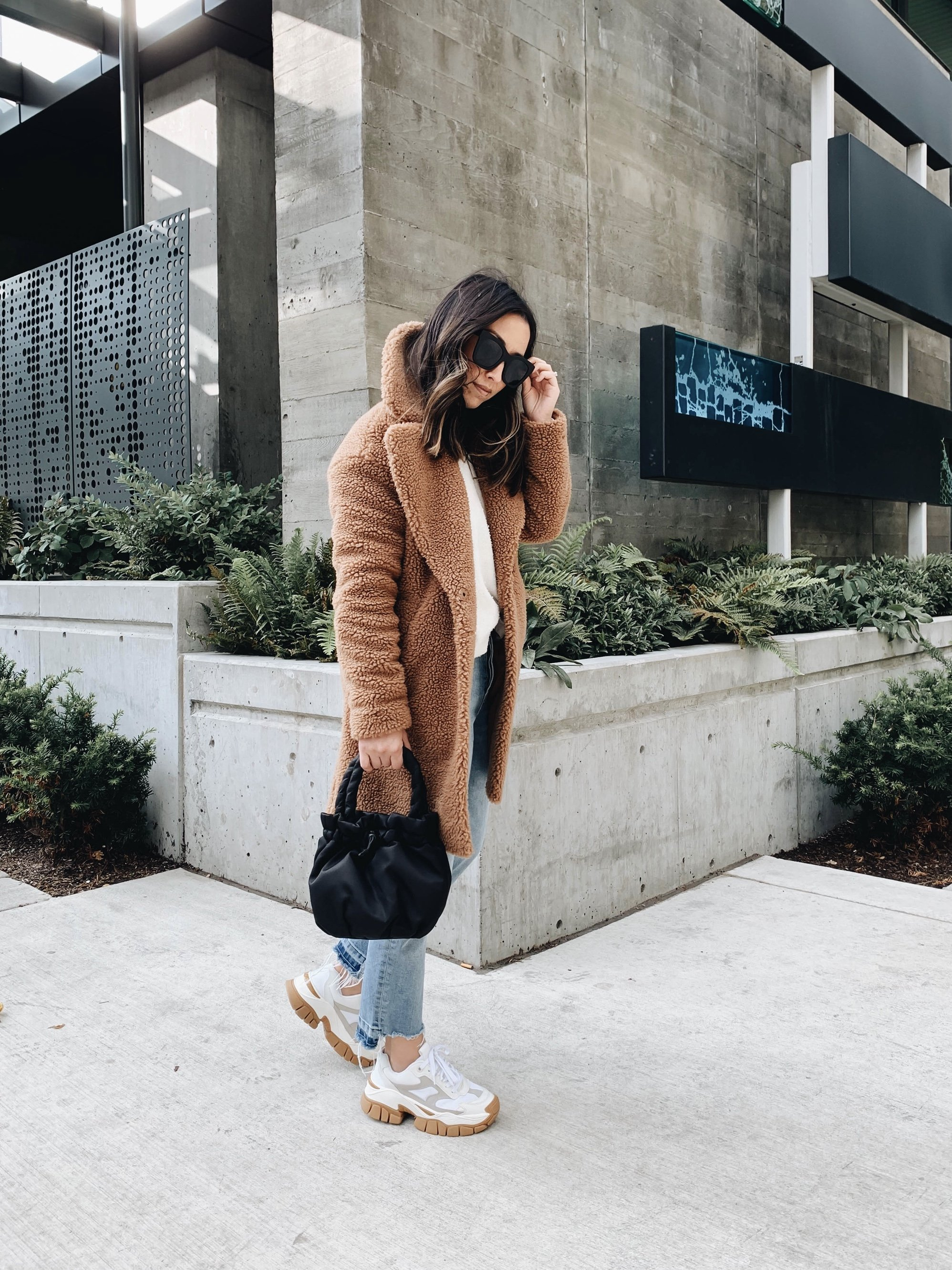 Abercrombie & Fitch sherpa coat