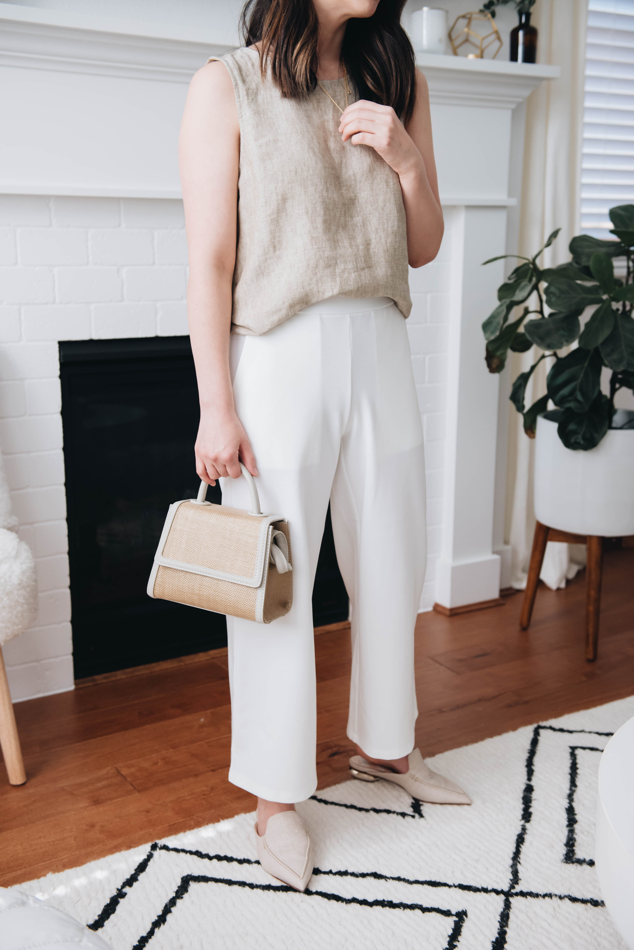 EILEEN FISHER linen collection