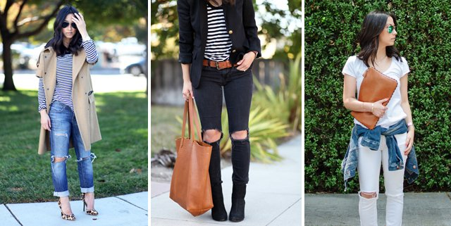 DIY Distressed Jeans Tutorial