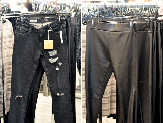 Ag Legging Jeans Faux Leather Leggings
