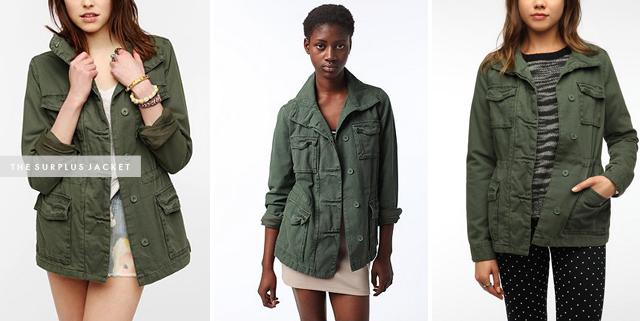 Friday Find: Ecote Surplus Jacket - Crystalin Marie