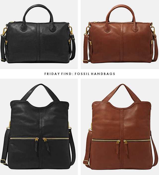 Friday Find Fossil Handbags