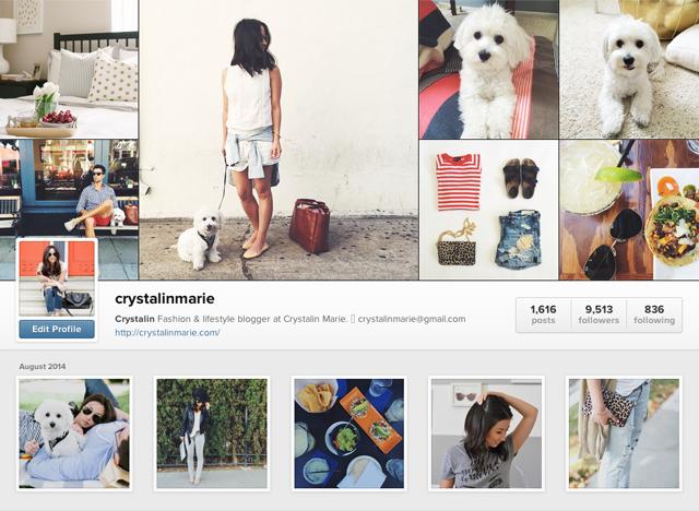 Crystalin marie Instagram