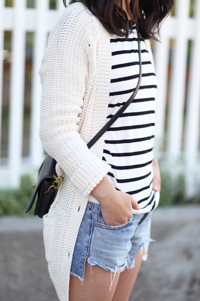Gap cable knit cardigan