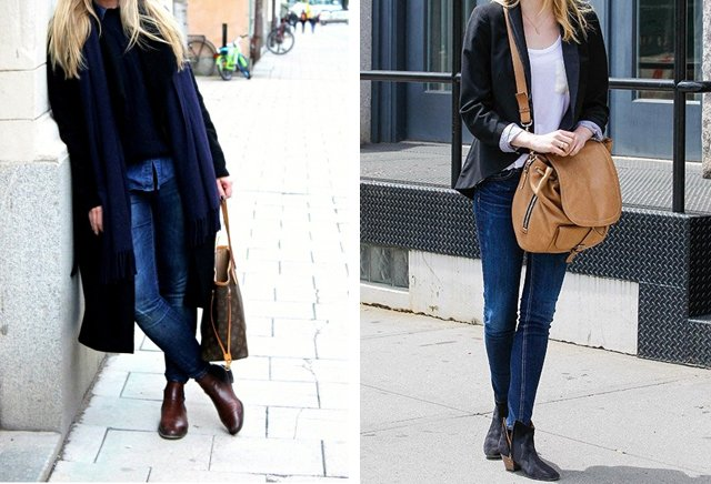 Fall Wardrobe | Ankle Boots - Crystalin Marie