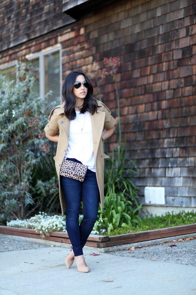 Hipsters for Sisters Leopard flat belt bag