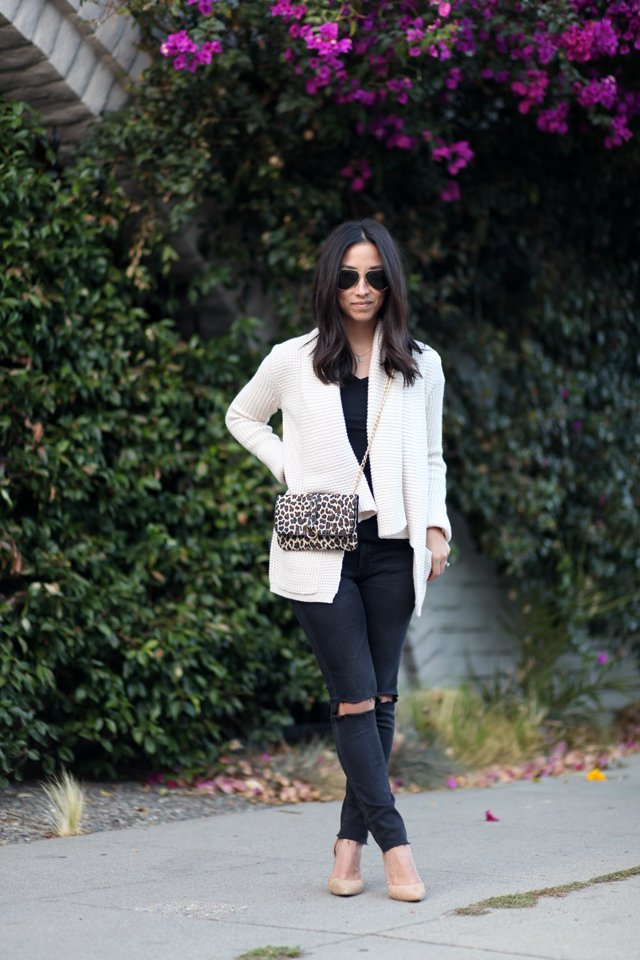Target cable Knit cardigan