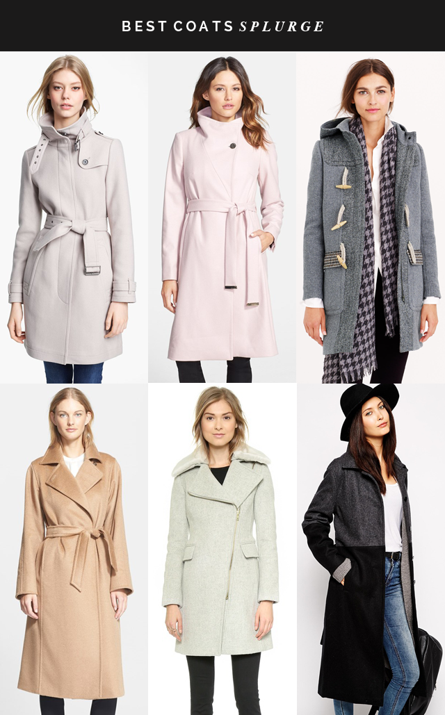 best coats splurge