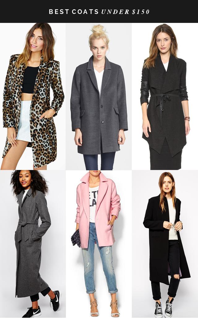 best coats under $150